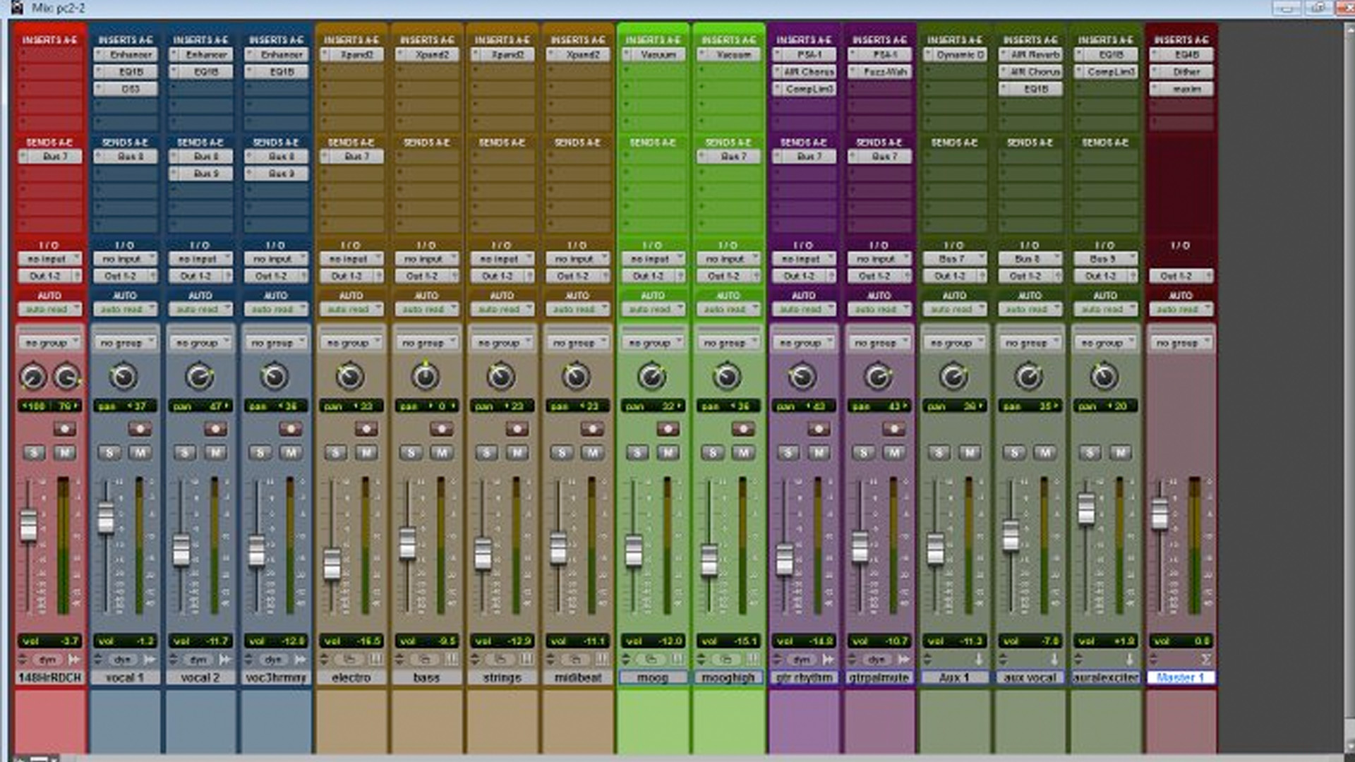 Mixing R&B
